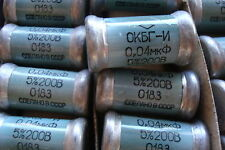 0.04uF  5% 200V  OKBG-I  KBG-I PIO Capacitors  NOS in BOX  Lot of  10