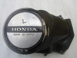 B-Honda-cm-400-T-NC01-Cache-Alternateur-Couvercle-Capot-de-Moteur-Gauche-Lima