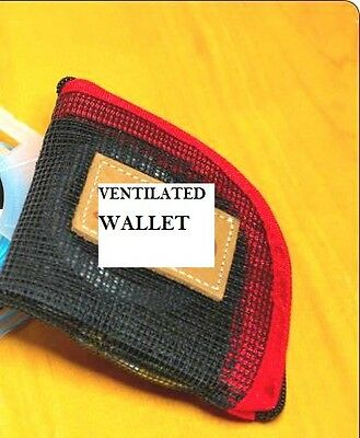 """5 Compartment Sink Tip Wallet 4.5/"""" x 4.5/"""" for leaders tippet spools indicators"""