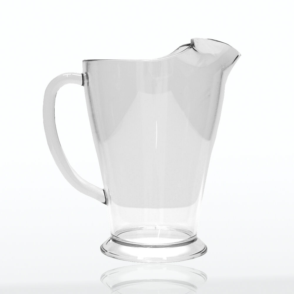 Elite polycarbonate 2 pinte ice lip pitcher - 12 par caisse