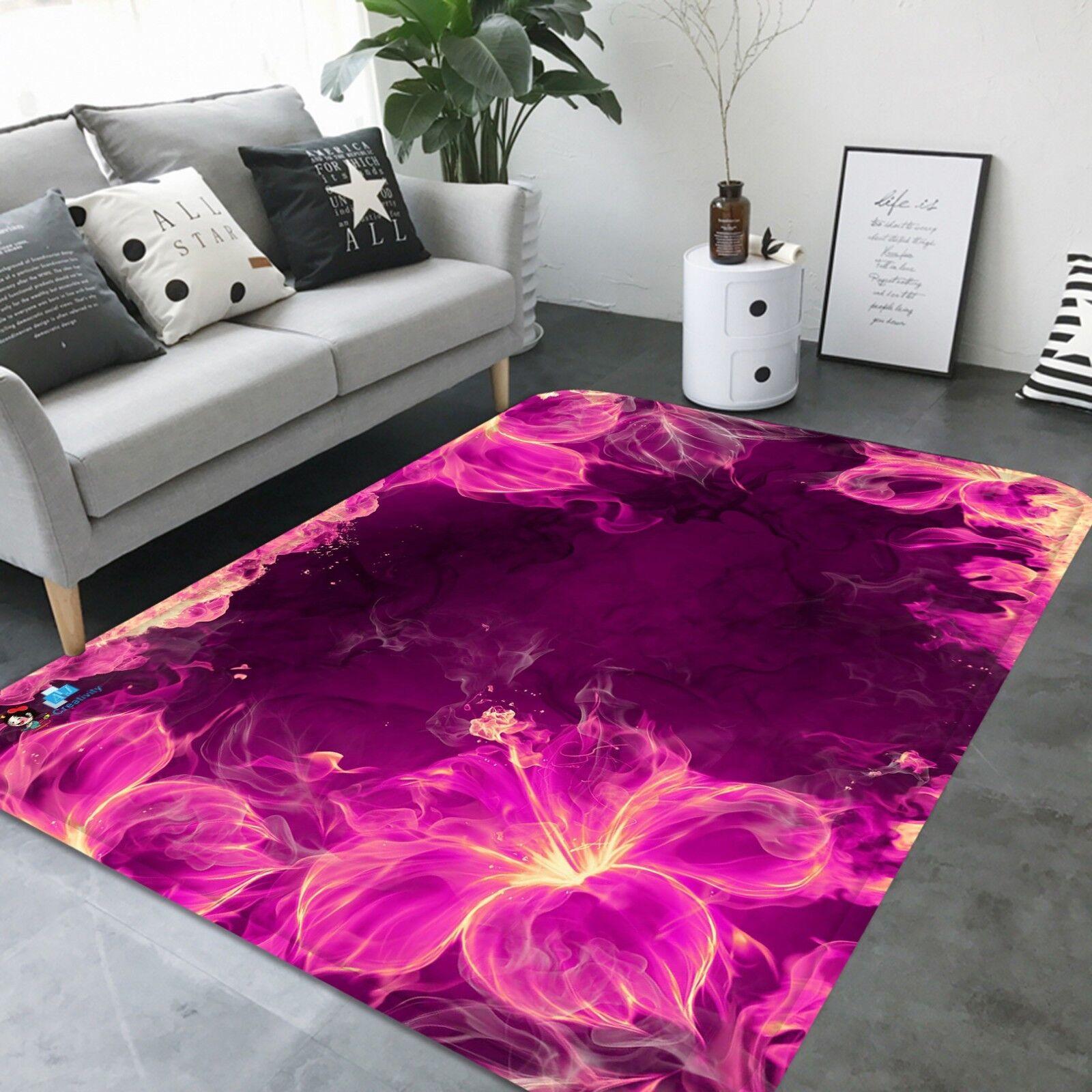 3D rosa Petalo 154 Pavimento Antiscivolo Tappeti Elegante Tappeto IT Cobb