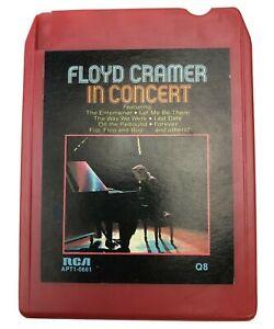 8 Track Tape Floyd Cramer In Concert RCA Vintage - TESTED