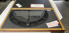 Starrett 224m 300 400mm Outside Micrometer Set With Standards In Case Lot7