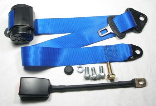 Blauer automatique 3 points ceinture de sécurité BMW 1802 2002 New Seatbelt