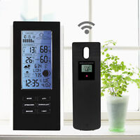 Blue LED Wireless Weather Station Sensor Temperature Humidity Barometer RCC