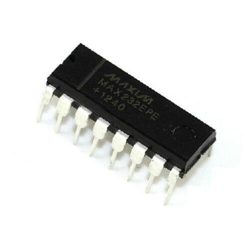 100PCS IC MAX232EPE MAX232 2DVR//2RCVR RS232 5V 16-DIP NEW DATE CODE 12+