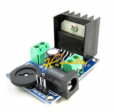 5-15W DC 3 to 18V TDA7266 Power Amplifier Module Double Channel