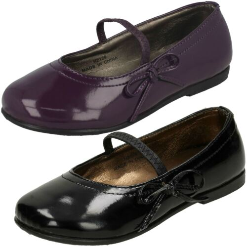 Girls Spot On Casual Shoes With Bow Trim