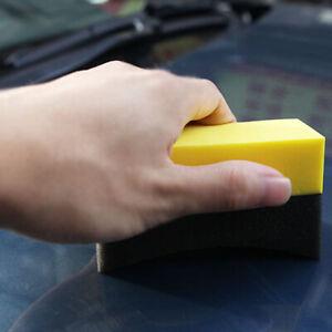 Car U Shape Household Tire Waxing Polishing EVA Sponge Block Cleaning Brush Wash