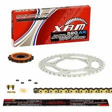 08-15; NIETSCHLOSS extra verstärkt DID Kettensatz GOLD Yamaha XT 660 Z Tenere