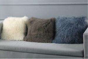 100-Real-Mongolian-Lamb-Tibetan-Fur-Pillow-Case-Cushion-Cover-Pillowcase-Soft