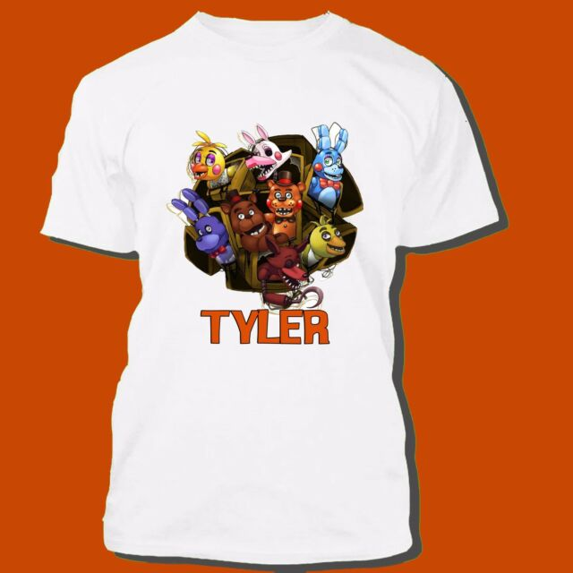 Five Nights At Freddy S Personalized T Shirt Party Favor Fnaf Birthday Gift Tee