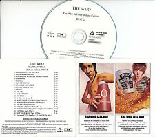 THE WHO The Who Sell Out Deluxe Edition 2008 UK 51-trk promo test 2CD