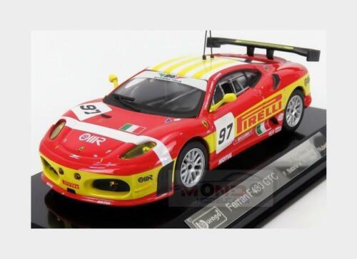 Ferrari F430Gt #97 Bms 2Nd Lmgt2 Class 24H Le Mans 2008 BURAGO 1:43 BU36303 Mode