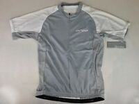 Orca Womens Cycle Top Jersey, Gray/white Color, New. Retail $75
