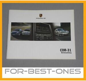 NEU-Porsche-CDR31-981-991-911-958-Betriebsanleitung-Bedienungsanleitung-Handbuch