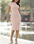 Ashro-Lynnelle-Dress-Pink-Lace-Formal-Dinner-Party-Church-M-L-XL-1X-2X-3X-PLUS thumbnail 1