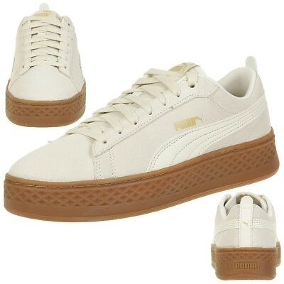 Puma Smash Platform L leather Sneaker Damen Schuhe 366487 02