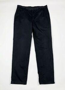 Powell-us-pantalone-uomo-usato-gamba-dritta-nero-W42-tg-56-gamba-dritta-T6065