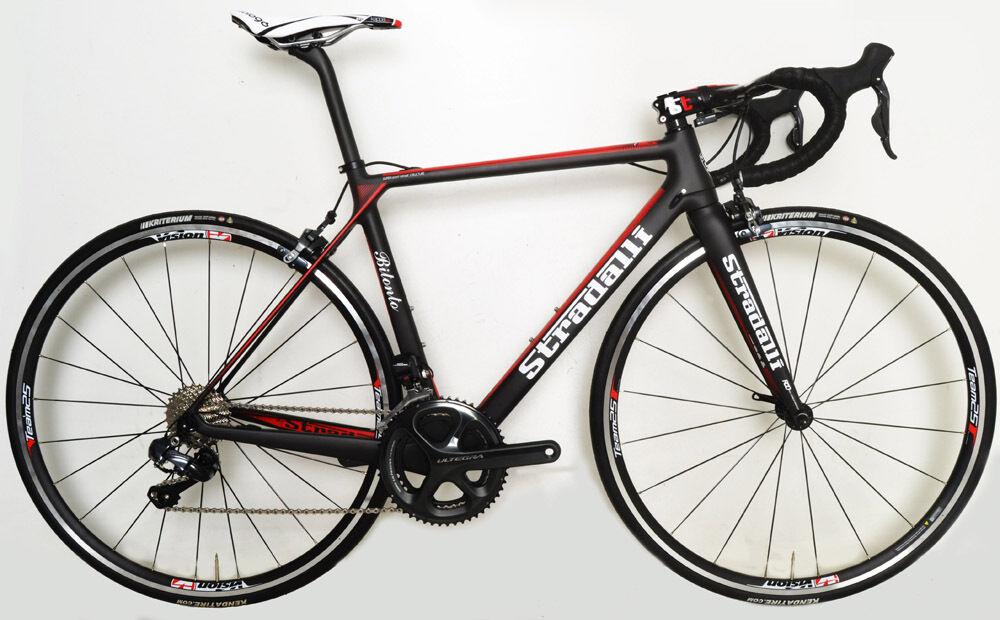 STRADALLI CYCLING CARBON BITONTO SHIMANO ULTEGRA 6870 ROAD BIKE BICYCLE 58CM XL