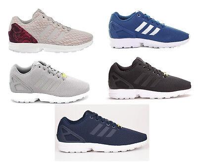 adidas zx flux uomo grigio