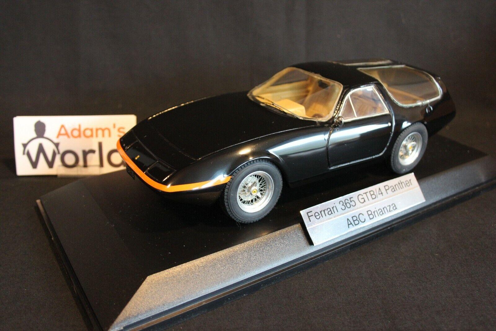 ABC Brianza built kit Ferrari 365 GTB 4 Panther 1 18 negro (PJBB)