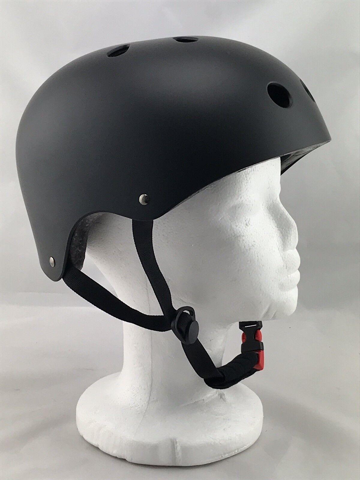 Fahrradhelm Skateboard Helm Mountainbike Inliner Babimax Babimax Babimax  Gr. M 57-58 cm schwarz 252da1