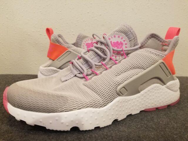 d56cd5f39f4ef Nike AIR HUARACHE RUN ULTRA Shoes 819151 002 Womens Size 7 Iron Ore Crimson