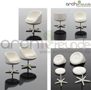 Das Bild Wird Geladen 2 X Moderne Modell Stuhl Drehstuhl Modellbau Buero