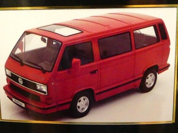 1 18 KK Scale VW T3 rot Star 1993 rot