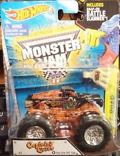 2015 Hot Wheels Monster Jam Truck Captains Curse Edge Glow Cage