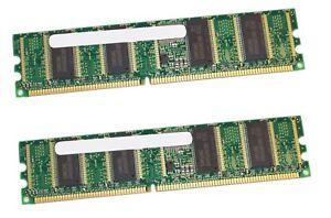 2x SAMSUNG M312L3223DT0-CB0 256MB DDR 266MHz CL2 5 PC2100R-25330-L0 COMPUTER RAM