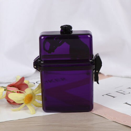 1PC Outdoor Waterproof Pockets Key Money Storage Box Case Holder Plastic CasPTH
