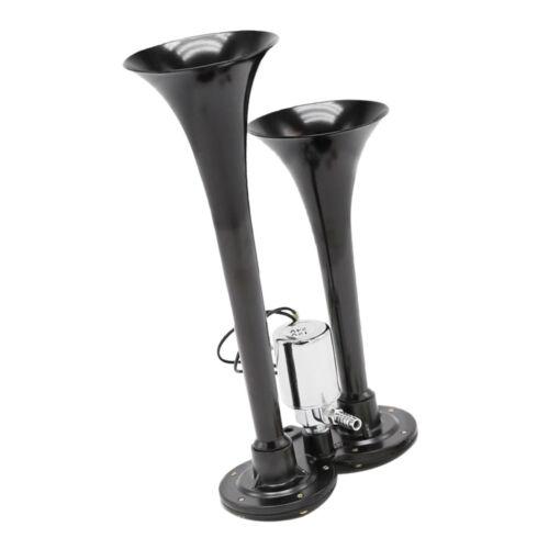 Trompete für DC12 150db Signalhorn Druckluft Horn Hupe Nebelhorn Doppel