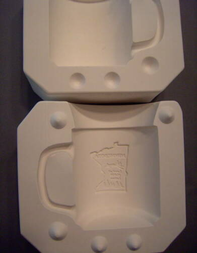 "NEW #206 Ceramic  Emporium Mold /""Minnesota Cup/"" Mold"