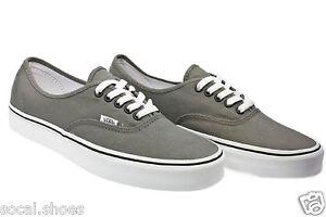 a8ba313d76bb05 VANS Men s Women s Skate Shoes AUTHENTIC Pewter Black Grey New With ...