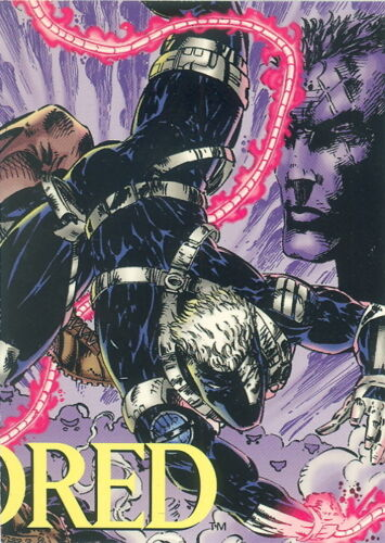 KINDRED IMAGE COMICS PROMO CARD NO NUMBER OF 2-CARD PUZZLE
