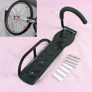 Cycling-Bicycle-Bike-Storage-Wall-Mounted-Rack-Stands-Hanger-Hook-Screws
