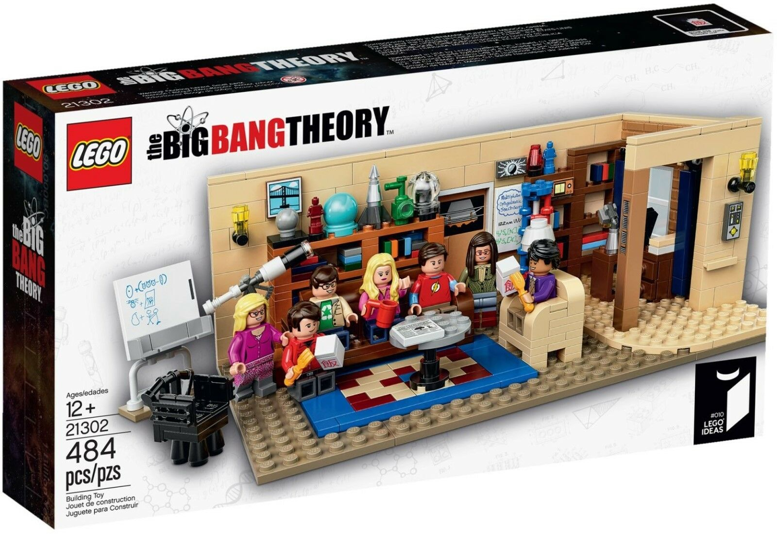Lego 21302 Ideas The Big Bang Theory_(Enter 'PURCHASE5' for 5% off)
