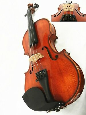 Advanced 3/4 Size Violin Helicore Strings,ready To Play Copy Of Strad