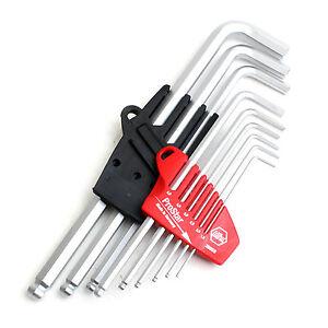Wiha SB369 S9 Combination Ball End Hex Key Sets L-Wrench Set 9PCS