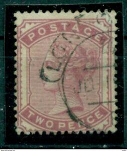 Grossbritannien-Koenigin-Victoria-Nr-58-gestempelt