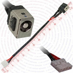 Toshiba-Tecra-R950-SMBGX5-DC-Jack-Power-Port-Socket-with-Cable-Connector