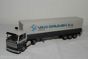 TEKNO-SCANIA-142H-142-H-TRUCK-WITH-TRAILER-VAN-OPIJNEN-B-V-EXCELLENT-CONDITION