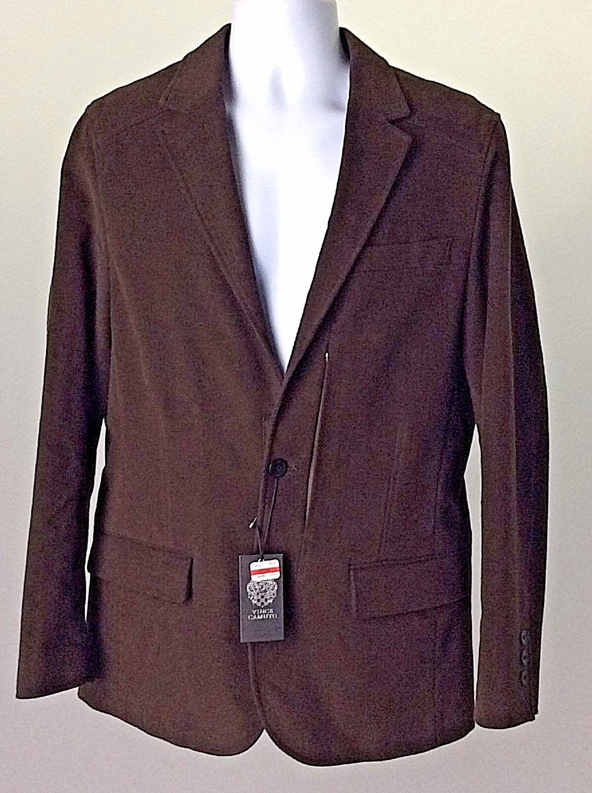 Vince Camuto Brown Removable liner 2-Button Blazer Size Medium NWT