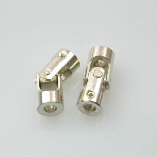 2  Pieces CNC Metal Wellenkupplung Kardangelenk für Schiffswellen 4mm auf 4mm
