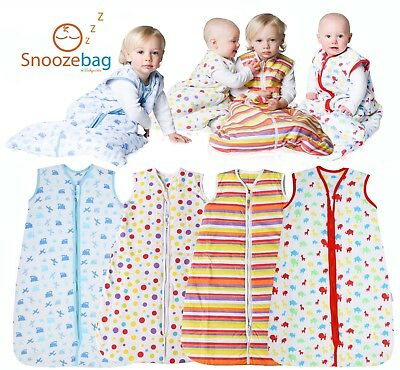 Snoozebag Planes and Trains 100/% Cotton Boys 2.5 Tog Nursery Baby Sleeping Bag Blue 0-6 Months 76cm