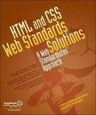 1 of 1 - HTML and CSS Web Standards Solutions: Aweb Standardistas Approach by...