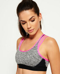 Superdry Damen Gym Duo Strap Bh