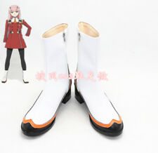 Darling in the Franxx Zero Two Code 002 Fighting Puppet Cosplay Shoes Boots